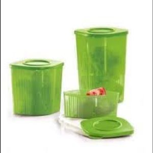 Tupperware Fresh N Cool Refrigerator Storages Set